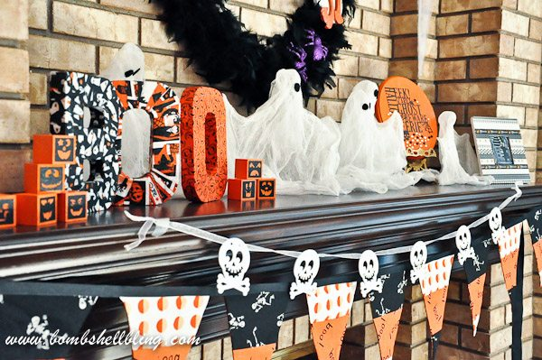 Glamorous Feather Halloween Wreath from Bombshell Bling