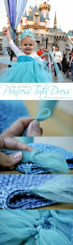 Tutu dress pin collage