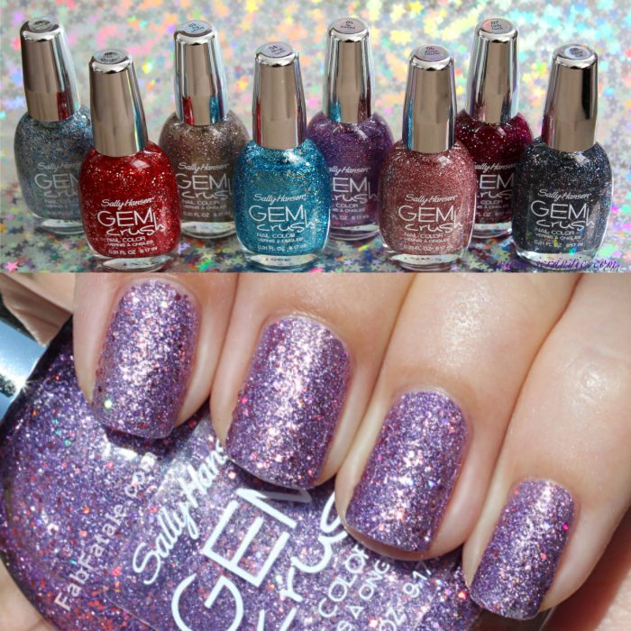 A Bottle of GEM Crush Nail Polish!