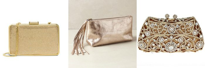 A Fabulous Gold Clutch