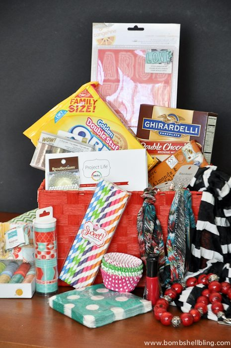 Win a basket STUFFED full of my favorite things!  Worth approx $200!!
