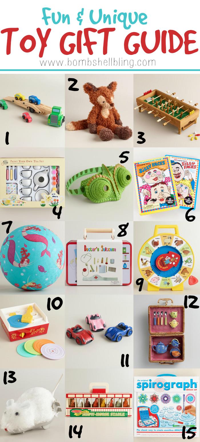 Fun & Unique Toy Gift Guide