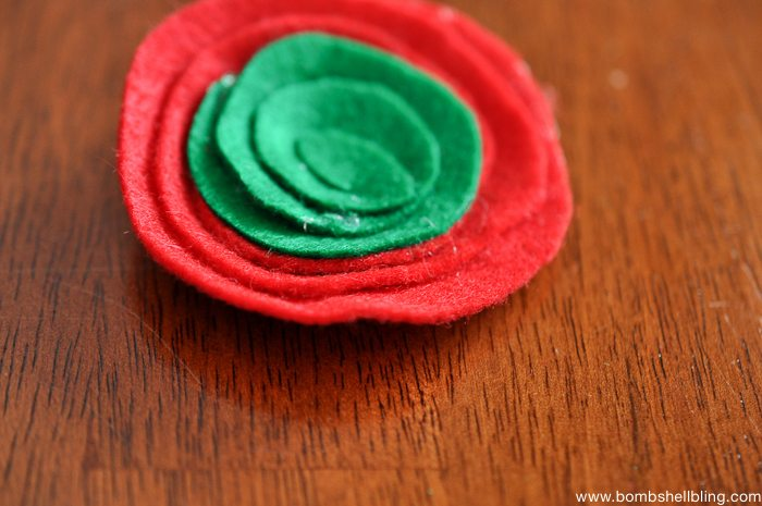 How to Make Swirled Felt Flowers-6