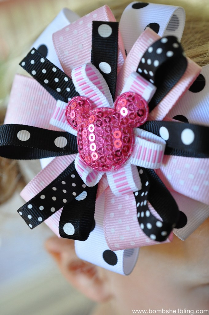 Minnie Mouse Bow and Dress-7