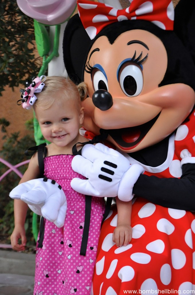 Minnie Mouse Bow and Dress