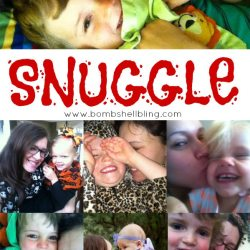 One Little World Goal for 2015: SNUGGLE!
