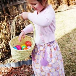 Easter Maxi Skirt Sewing Tutorial