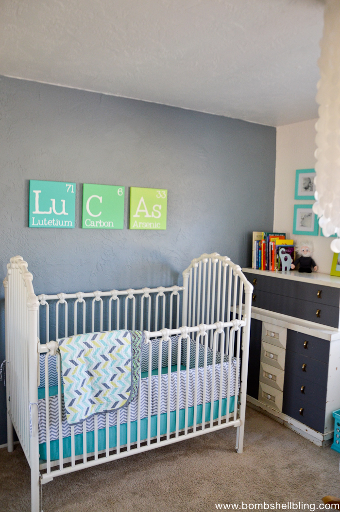 This retro nursery is the best!!