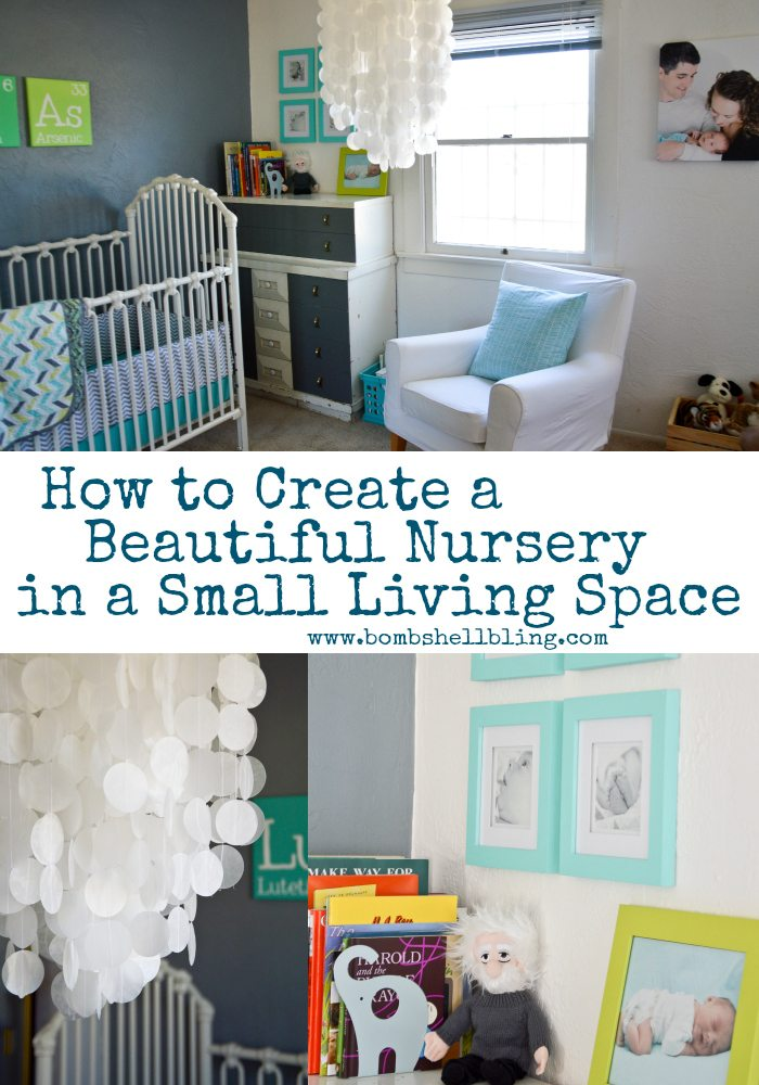 How to Create a Beautiful Nursery in a Small Living Space