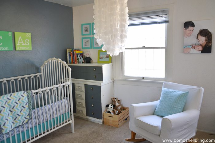Retro Inspired Baby Nursery-3