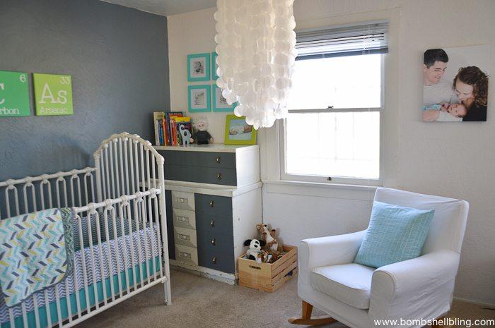 Retro Inspired Baby Nursery-3