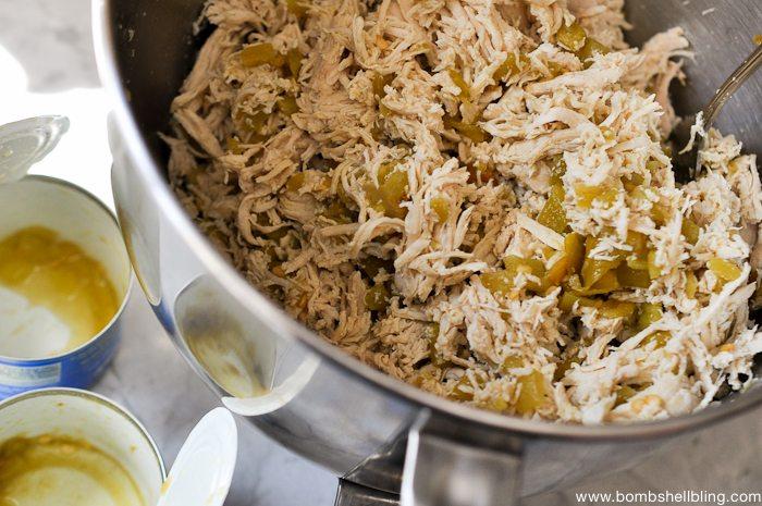 Creamy Mushroom Pepperjack Chicken Enchilada Recipe-2