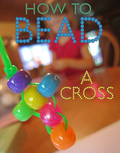 How to Bead a Cross