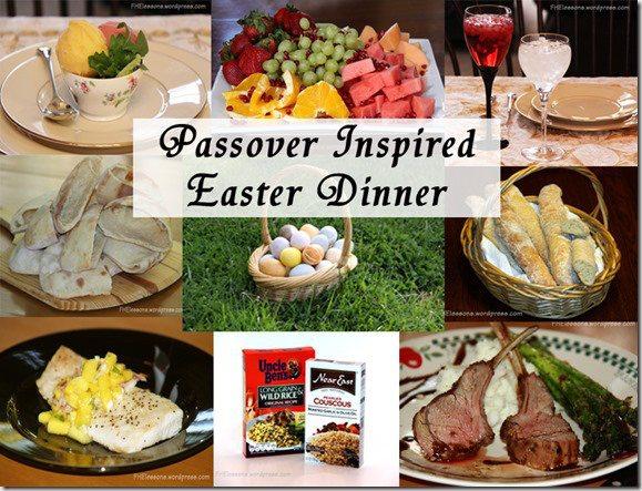 Passover Inspired Easter Dinner