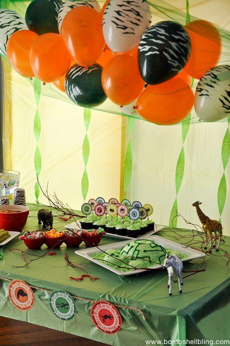 Wild Kratts Birthday Party-17