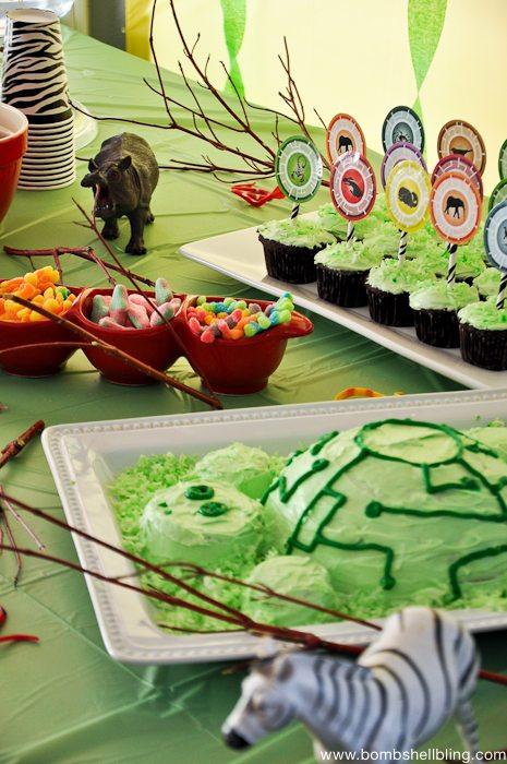 Wild Kratts Birthday Party-18