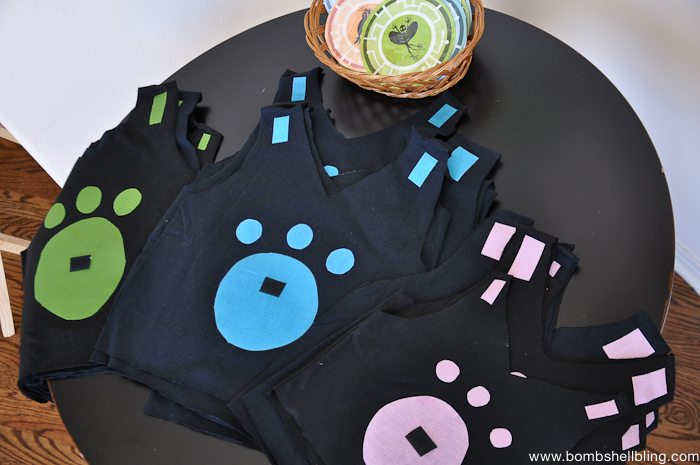 Creature Power Suits for a Wild Kratts Birthday Party