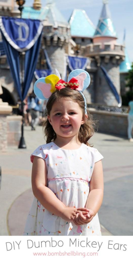 DIY Dumbo Mickey Mouse Ears Tutorial