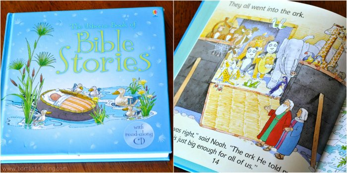 books for kids Bible Stories collage