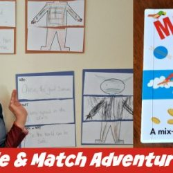 Muddle & Match Activity for Kids