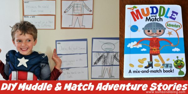 DIY Muddle & Match Adventure Stories