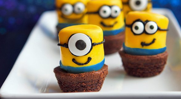 minion ideas minion cupcakes