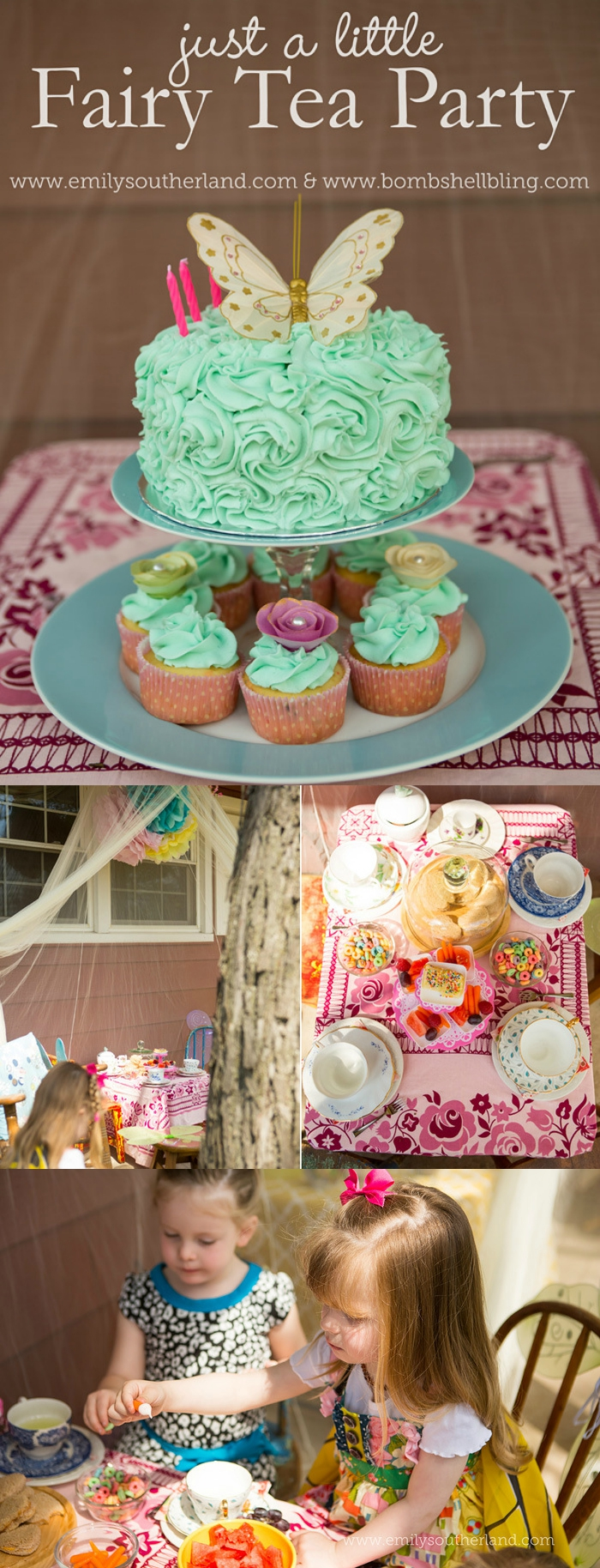 Fairy Tea Party for Little Girls