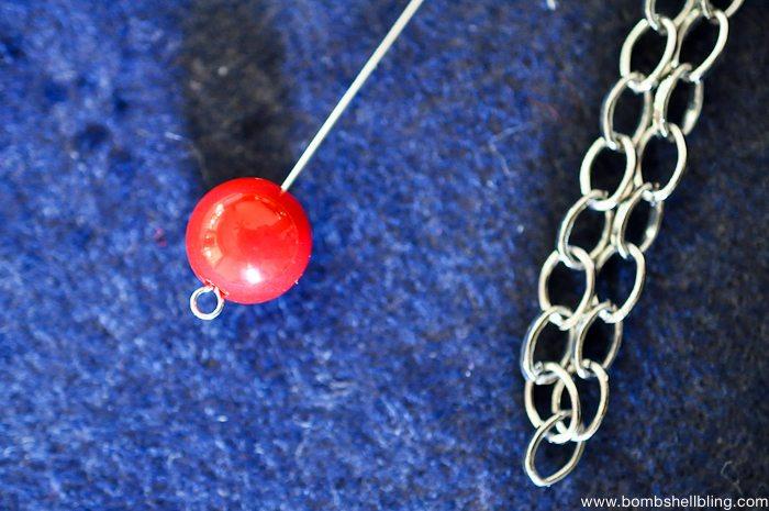 Patriotic Bauble Necklace Tutorial-7
