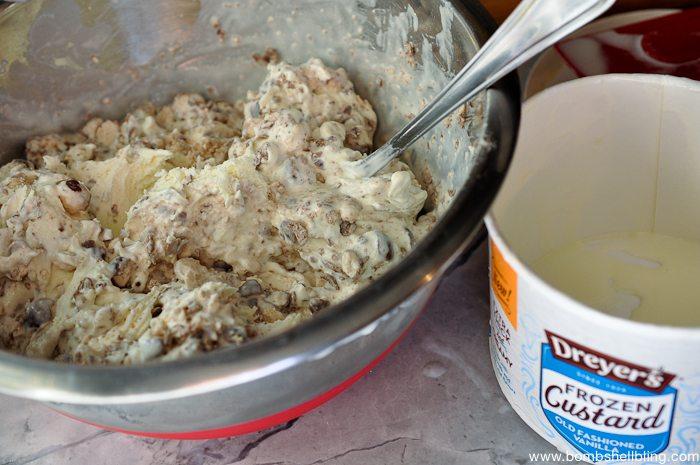 Chocolate Malt Frozen Custard Cake-3