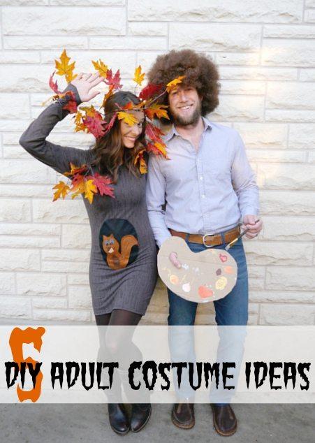 5 DIY Adult Costume Ideas