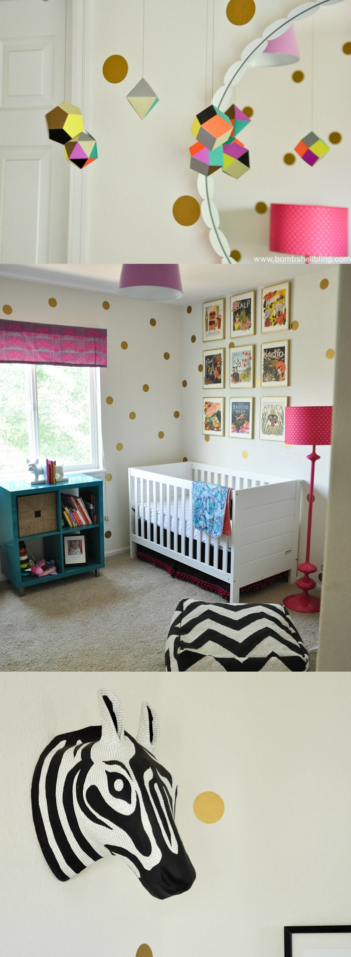 Colorful Modern Nursery