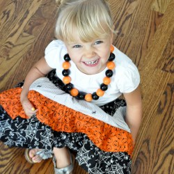 Halloween Maxi Skirt Tutorial