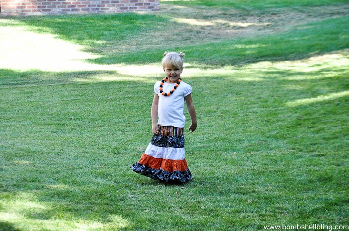 Halloween Maxi Skirt Tutorial-14