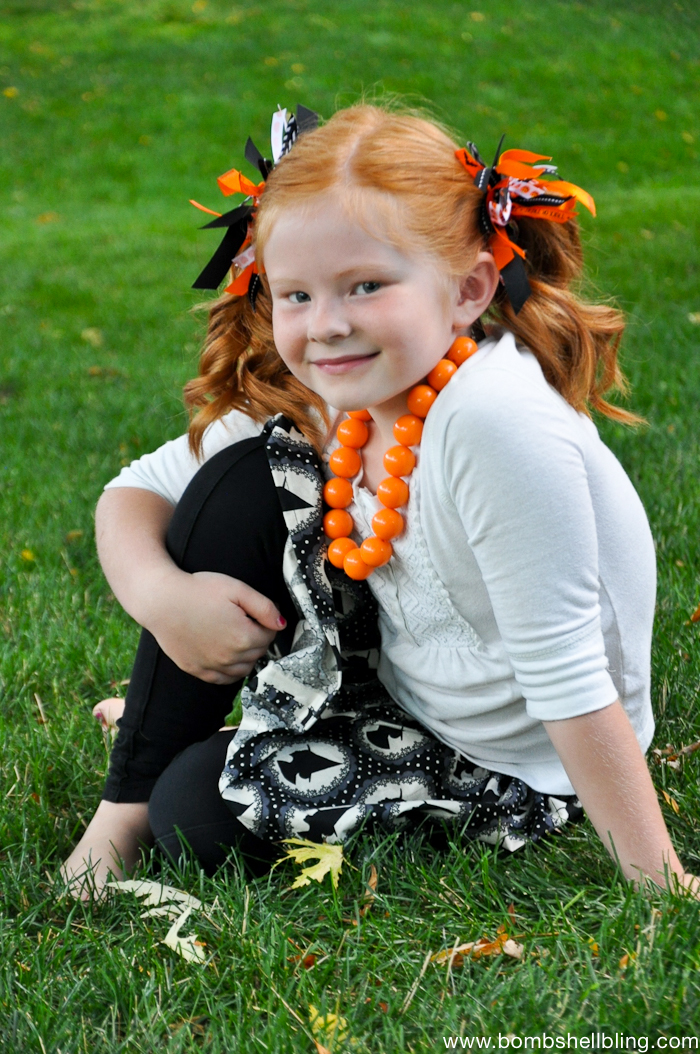 Halloween FIrecreacker Bows Tutorial-5