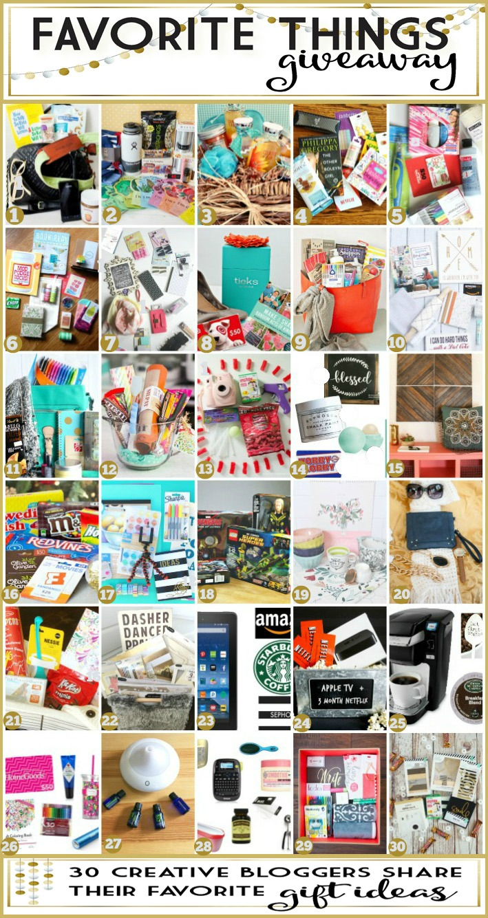 Favorte Things Giveaway and Gift Ideas for the Holidays(1)