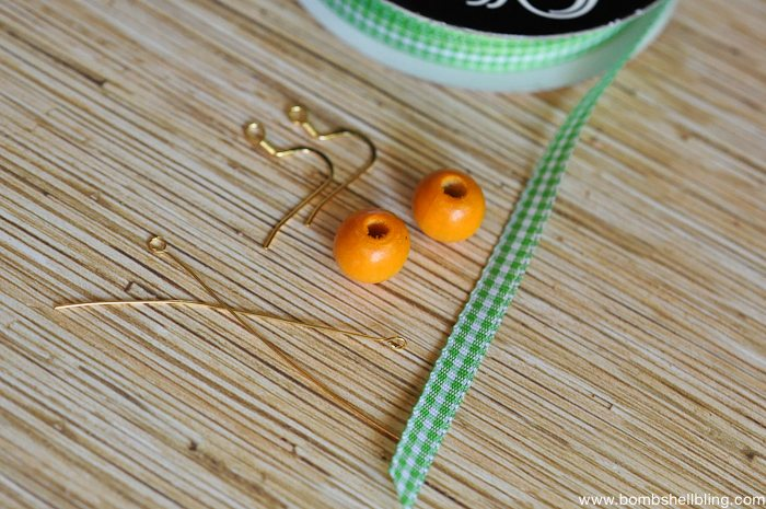 Pumpkin Inspired Earrings-1