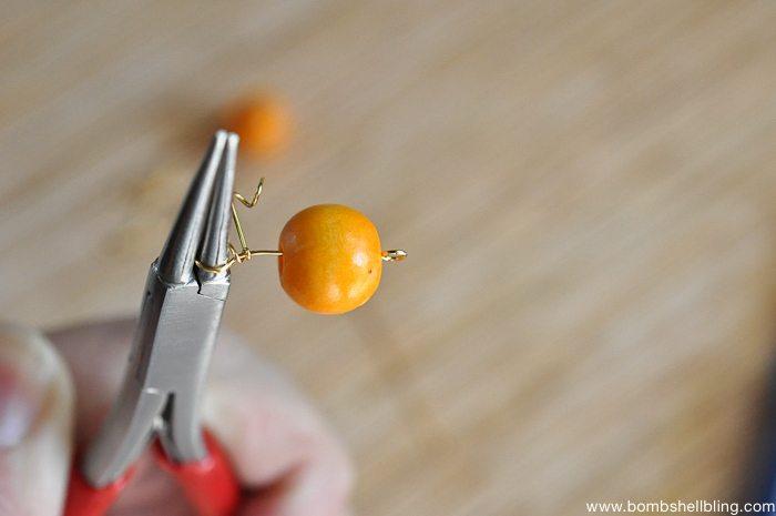 Pumpkin Inspired Earrings-4