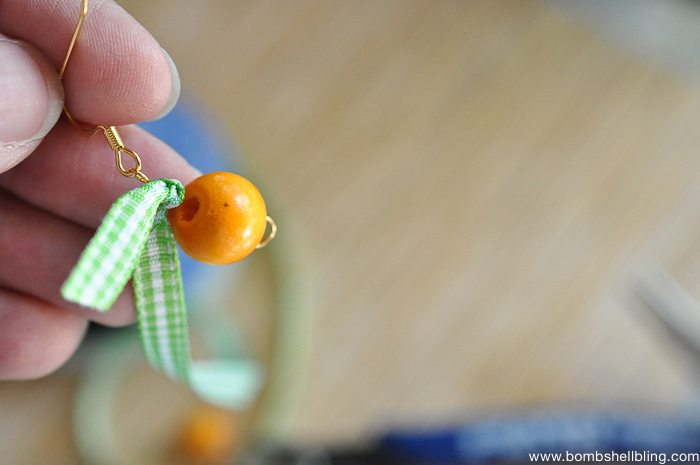 Pumpkin Inspired Earrings-6