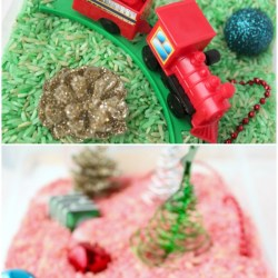 How to Make a Christmas Sensory Bin