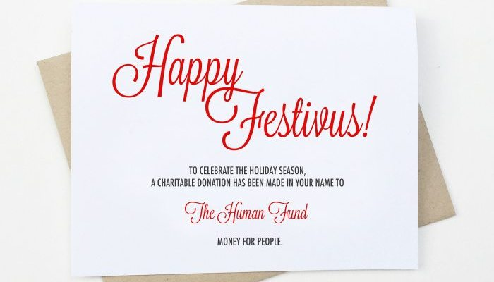 HAPPY FESTIVUS: Free Festivus Printable Card