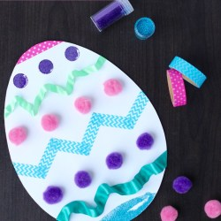 Easter Egg Scraps Craft
