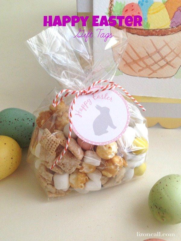Free printable Easter gift tags @lizoncall.com