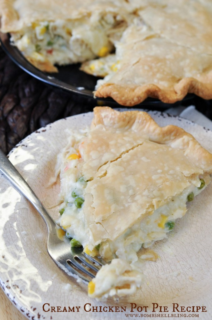 Creamy Chicken Pot Pie Recipe