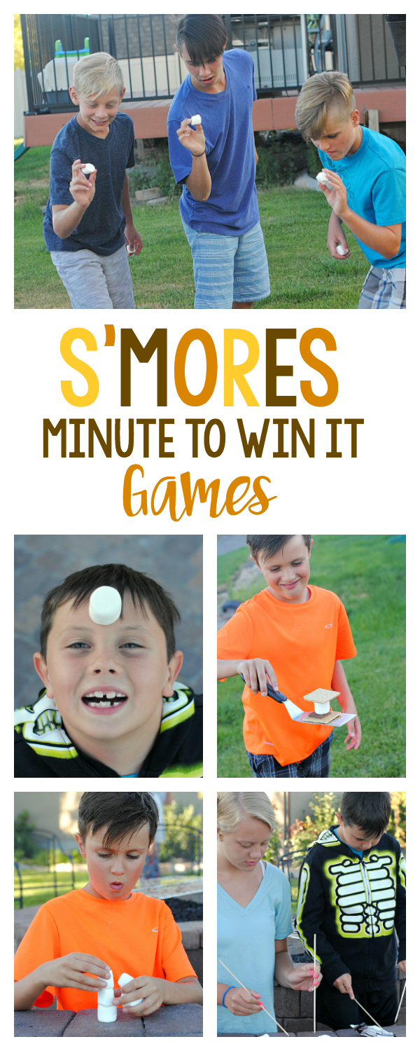 S'mores Minute to Win It Games