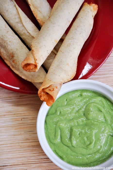 Jose Ole Taquitos and Dipping Sauce-5