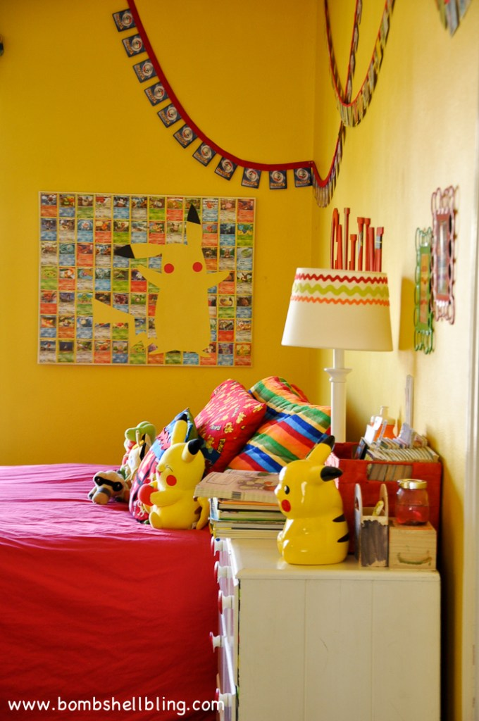 Pikachu Art for a Pokemon Bedroom