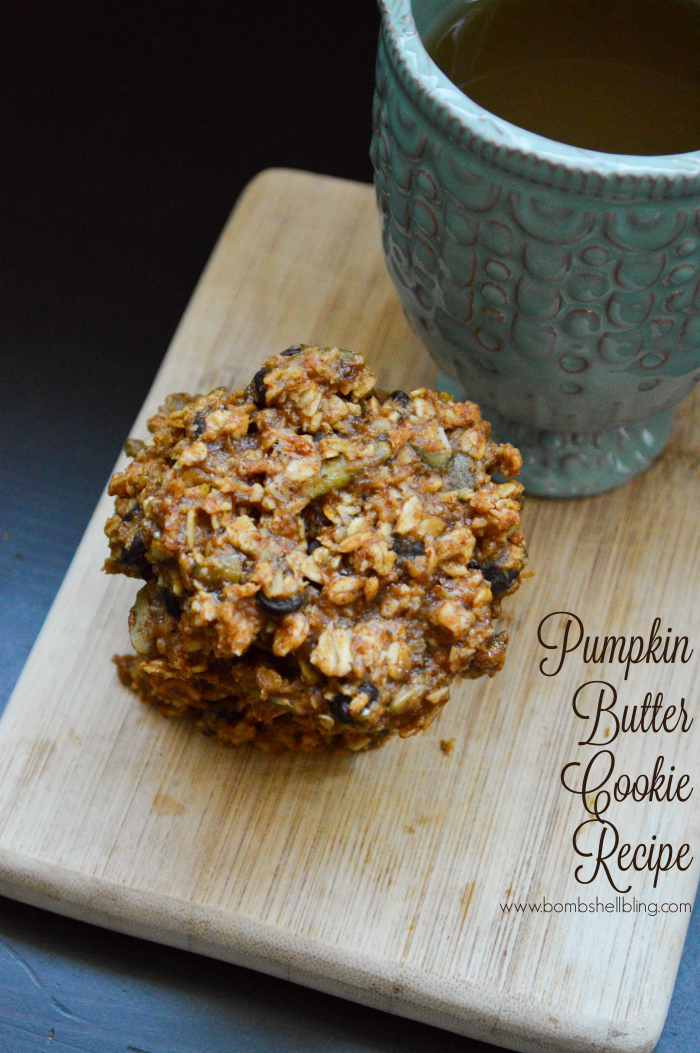 These DELICIOUS pumpkin butter breakfast cookies are SO easy to make and the PERFECT Fall snack!