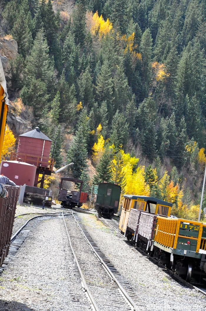 Come ride the Georgetown Loop Railroad in the Colorado mountains to see the beauty and the charm of the old mining communities.