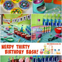 Nerdy Thirty Birthday Party