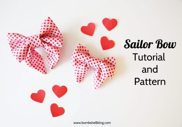 Sailor Bow Tutorial and Pattern